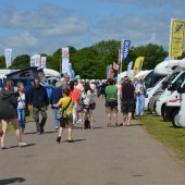 UK Summer Motorhome & Caravan Show 2015